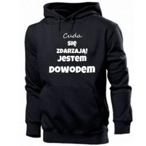 Men's hoodie Miracles happen!