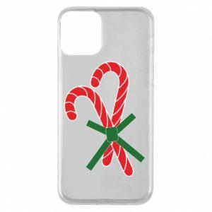 Etui na iPhone 11 Cukierki z trzciny bożonarodzeniowej