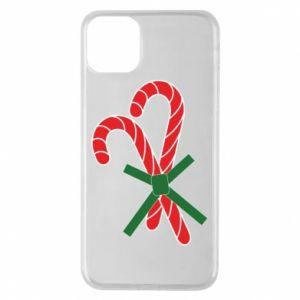 Etui na iPhone 11 Pro Max Cukierki z trzciny bożonarodzeniowej
