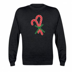 Kid's sweatshirt Christmas Cane Candies