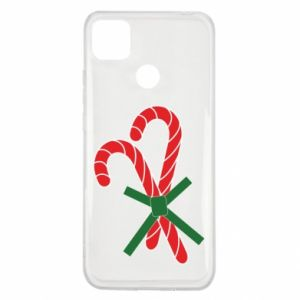 Etui na Xiaomi Redmi 9c Cukierki z trzciny bożonarodzeniowej
