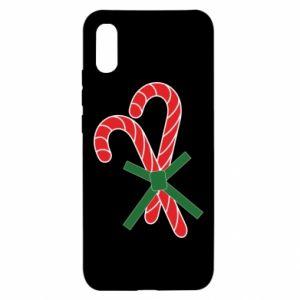 Xiaomi Redmi 9a Case Christmas Cane Candies