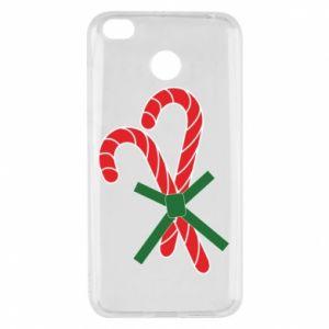 Xiaomi Redmi 4X Case Christmas Cane Candies