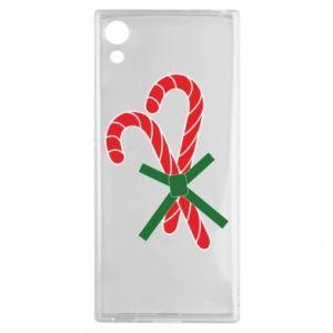 Sony Xperia XA1 Case Christmas Cane Candies