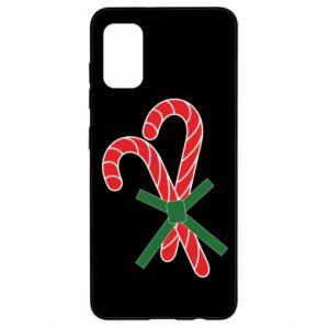 Samsung A41 Case Christmas Cane Candies