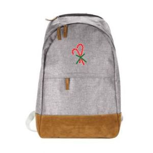 Urban backpack Christmas Cane Candies