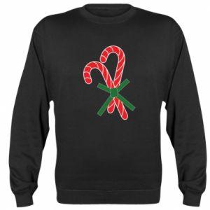 Sweatshirt Christmas Cane Candies