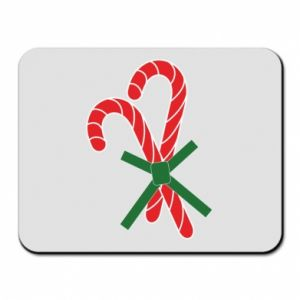 Mouse pad Christmas Cane Candies