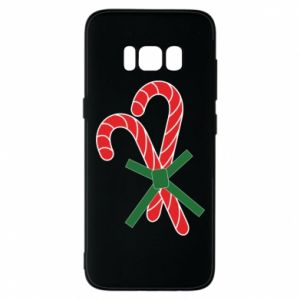 Phone case for Samsung S8 Christmas Cane Candies