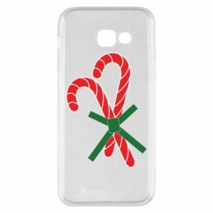 Phone case for Samsung A5 2017 Christmas Cane Candies