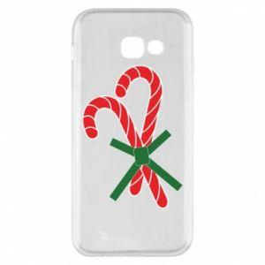 Etui na Samsung A5 2017 Cukierki z trzciny bożonarodzeniowej