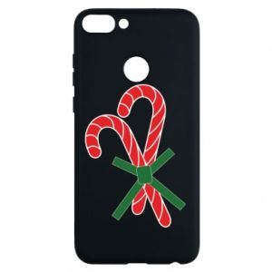 Huawei P Smart Case Christmas Cane Candies