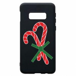 Samsung S10e Case Christmas Cane Candies