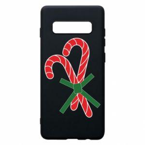 Etui na Samsung S10+ Cukierki z trzciny bożonarodzeniowej