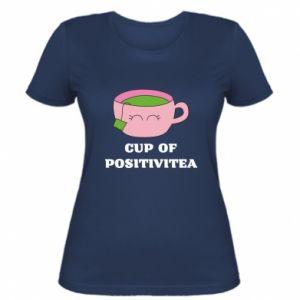 Women's t-shirt Cup of positivitea - PrintSalon