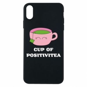 Phone case for iPhone Xs Max Cup of positivitea - PrintSalon