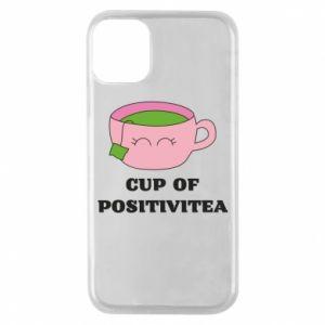 Phone case for iPhone 11 Pro Cup of positivitea - PrintSalon