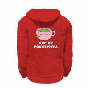 Bluza na zamek dziecięca Cup of positivitea