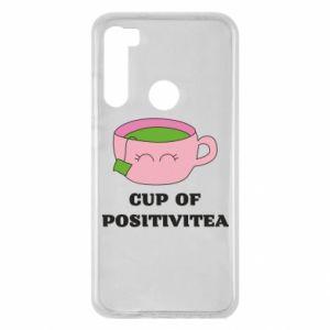 Etui na Xiaomi Redmi Note 8 Cup of positivitea
