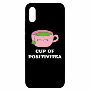 Xiaomi Redmi 9a Case Cup of positivitea