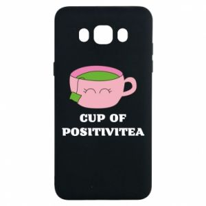 Etui na Samsung J7 2016 Cup of positivitea