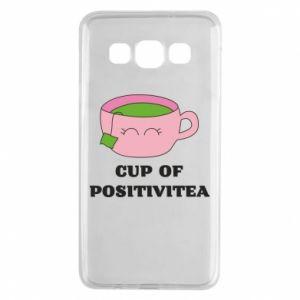 Etui na Samsung A3 2015 Cup of positivitea