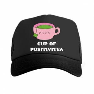 Trucker hat Cup of positivitea - PrintSalon