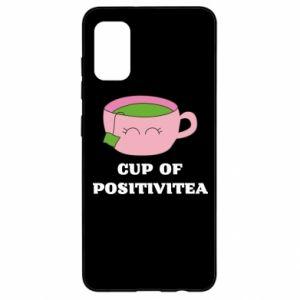 Etui na Samsung A41 Cup of positivitea