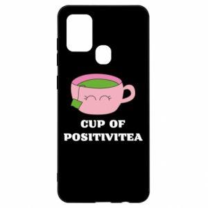 Etui na Samsung A21s Cup of positivitea