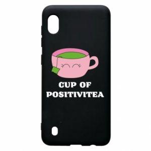 Etui na Samsung A10 Cup of positivitea