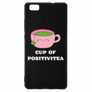 Etui na Huawei P 8 Lite Cup of positivitea