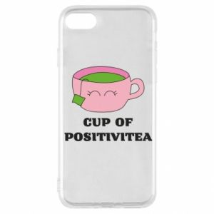 Etui na iPhone SE 2020 Cup of positivitea