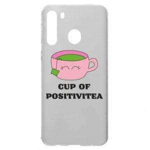 Etui na Samsung A21 Cup of positivitea