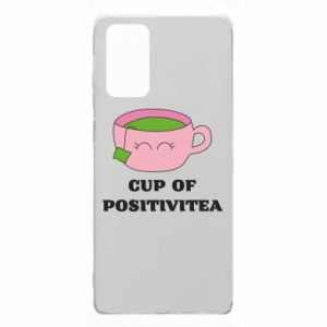 Etui na Samsung Note 20 Cup of positivitea