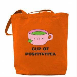 Bag Cup of positivitea - PrintSalon