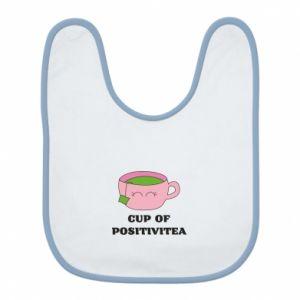 Bib Cup of positivitea - PrintSalon