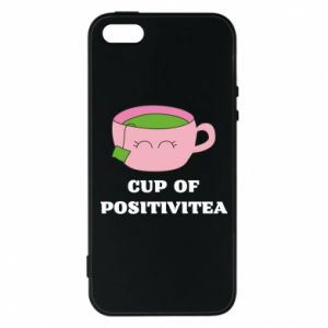 Phone case for iPhone 5/5S/SE Cup of positivitea