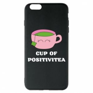 Phone case for iPhone 6 Plus/6S Plus Cup of positivitea - PrintSalon