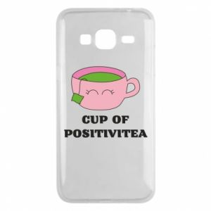 Phone case for Samsung J3 2016 Cup of positivitea