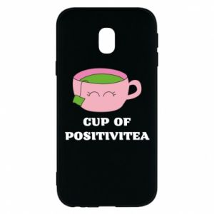 Phone case for Samsung J3 2017 Cup of positivitea