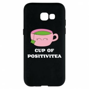 Phone case for Samsung A5 2017 Cup of positivitea