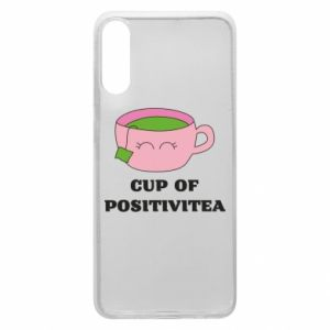 Phone case for Samsung A70 Cup of positivitea