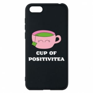 Phone case for Huawei Y5 2018 Cup of positivitea