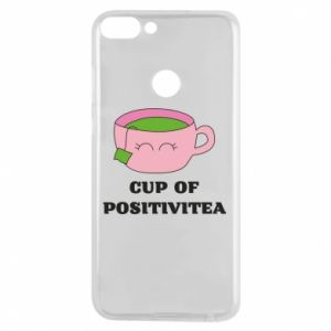 Phone case for Huawei P Smart Cup of positivitea