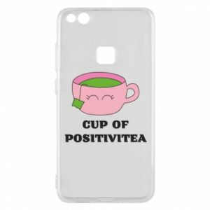 Phone case for Huawei P10 Lite Cup of positivitea