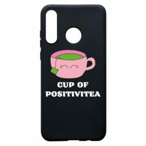 Phone case for Huawei P30 Lite Cup of positivitea - PrintSalon