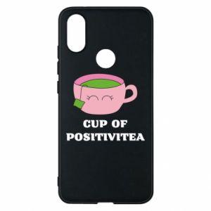 Phone case for Xiaomi Mi A2 Cup of positivitea - PrintSalon