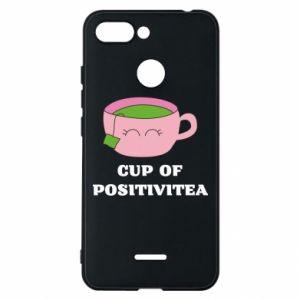 Phone case for Xiaomi Redmi 6 Cup of positivitea - PrintSalon