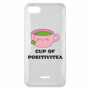Phone case for Xiaomi Redmi 6A Cup of positivitea - PrintSalon
