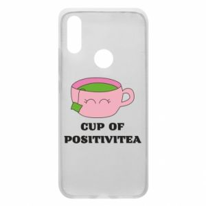 Phone case for Xiaomi Redmi 7 Cup of positivitea - PrintSalon